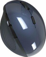 Indena Draadloze Muis Ergonomische Optische 2.4G 1600DPI Draadloze Rechterhand G-215 Voor PC Laptop - blauw