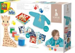 SES Creative vingerverfset Girafe junior papier 21-delig