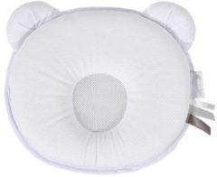 Witte Candide synthetisch ergonomisch hoofdkussentje petit panda air+