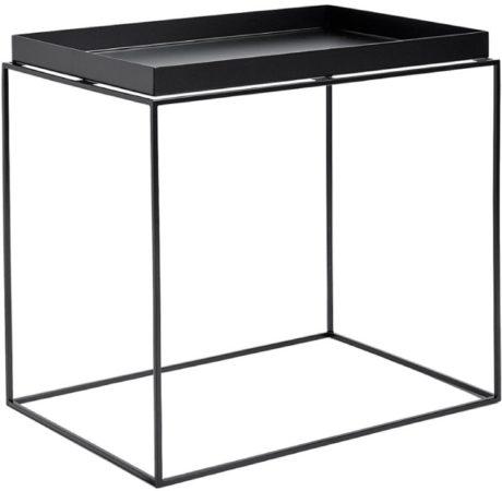 Afbeelding van Zwarte Hay Tray Table salontafel zwart side