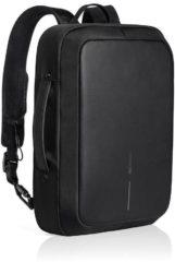 Roze XD Design Bobby Bizz Backpack/Briefcase - Anti-Diefstal Rugzak/Schoudertas - Zwart