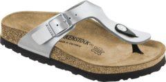 Zilveren Birkenstock Slippers Kinderen Gizeh - 846153 Silver - Smal