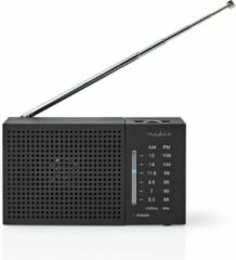 Nedis RDFM1200BK Fm/am-radio 1,5 W Zakformaat Zwart