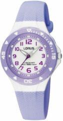 Lorus Young RRX51CX9 - Horloge - Kunststof - Paars - 28 mm