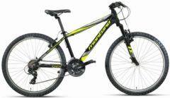 Montana Bike 26 ZOLL MONTANA SPIDY MOUNTAINBIKE ALUMINIUM 21 GANG Herren schwarz