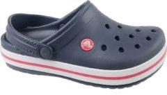 Crocs Crocband Slippers - Maat 32/33 - Unisex - blauw/rood/wit