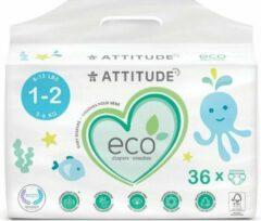 Attitude - Kinder Luiers Wegwerp Eco 1-2 (3-6kg) Size 1-2 (3-6kg)
