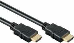 Zwarte Reekin High speed HDMI kabel 20 meter