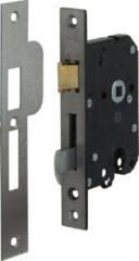 Grijze Nemef 4109/17-50 - Veiligheids Deurslot - voor buitendeuren - SKG** - doornmaat 50 mm - afstand 55 mm