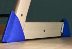 Kidsidee Sokkoo's Vloerbeschermers voor de kinderstoel, kleur Konings Blauw