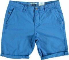 Garcia blauwe fine cotton bermuda - Maat L