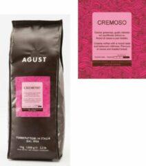 Caffè Agust Cremoso (Crema) 1000g bonen