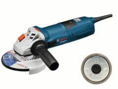 Blauwe Bosch Professional GWS 13-125 CI Haakse slijper - 1300 Watt - 125 mm schijfdiameter - Met opbergkoffer