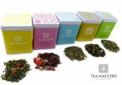 Dutch Tea Maestro - losse thee - assortiment thee - blikje thee - thee cadeau - thee geschenk - origineel cadeau