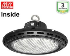 Groenovatie LED Highbay UFO 200W Pro Neutraal Wit, MeanWell Driver Inside