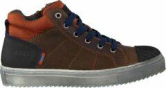 Koel4kids Jongens Hoge sneakers Ko896-al-02 - Bruin - Maat 32