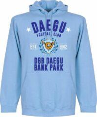 Retake Daegu Established Hoodie - Lichtblauw - L