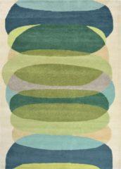 Harlequin - Elliptic Emerald 140307 Vloerkleed - 170x240 cm - Rechthoekig - Laagpolig Tapijt - Retro - Beige, Blauw, Groen