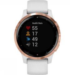 Goudkleurige Garmin Vivoactive 4S - Multisport - Smartwatch - White/Rosegold