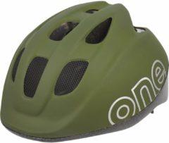 Groene Bobike One Plus Fietshelm - Maat S - 52-56cm - Olive Green