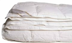 Witte Bedmode24 100% dons 4-seizoenen dekbed 260x220 cm