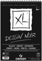 Canson tekenblok XL 150g/m² formaat A4 40 vel zwart