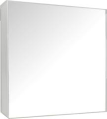 Spiegelkast Sanicare Qlassics 60 cm 1 Deur Alu-Look