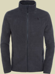 The North Face 100 Glacier Full Zip Men Herren Fleecejacke Größe L TNF dark grey heather