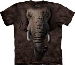 The Mountain Kinder T-shirt olifant 98-104 (s)