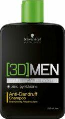 Schwarzkopf Professional Schwarzkopf - 3D Men - Anti-Dandruff Shampoo - 250 ml