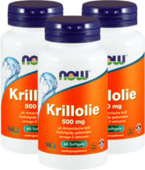 Now Foods NOW Krillolie 500 mg 60 Softgel