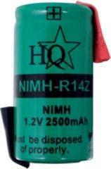 Groene Nedis Fixapart NIMH-R14Z Nikkel Metaal Hydride 2500mAh 1.2V oplaadbare batterij/accu