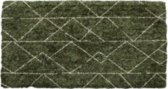 Dimehouse Vloerkleed Bruin Geruit Lina 160x230 cm