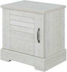 Gamillo Furniture Nachtkastje Thelma 53 cm hoog in gekalkte kastanjehout