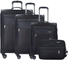Capri 4-Rollen Kofferset 4-tlg. Travelite schwarz