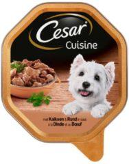 Cesar Alu Cuisine 150 g - Hondenvoer - Kalkoen&Rund - Hondenvoer