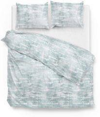 Groene Zo! Home Dekbedovertrek Naron - Mint - Lits-jumeaux 240x200/220 Cm