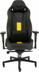 Corsair T2 Road Warrior - Gamestoel - Zwart / Geel