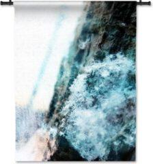 53 Graden Noord Wandkleed Sneeuw op schors - 90 x 115 cm