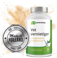 Vet Vernietiger - 90 Vcaps - PerfectBody.nl