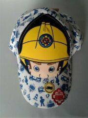 Blauwe Suncity Brandweerman Sam pet/cap maat 54