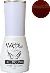 Rode Gellex White Angel Gellex Deluxe Gel Polish, gellak, gel nagellak, shellac - Chilled Wine 341