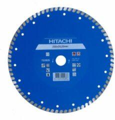 Hitachi Accessoires Diamant Zaagblad 125X22,2X6Mm Type Turbo Vlak