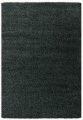 Antraciet-grijze Impression Himalaya Shaggy Hoogpolig Deluxe Vloerkleed Antraciet - 80x150 CM
