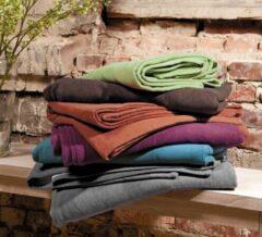 Katoenen deken Cotton pur kakao/taupe Meditatiekussen YOGISTAR