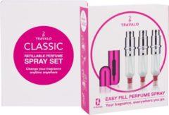 Roze Travalo Travallo hd hot pink set of 3