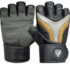 Witte RDX Sports T17 Aura Gym Handschoenen - Small - Zwart