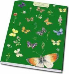Groene Bekking & Bitz Publishers Schrift A5: Vlinders, Janneke Brinkman