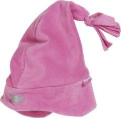 Playshoes Fleece Muts reflector Kinderen - Roze - Maat 53CM (+5jaar)