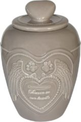 Happy-House Memory Collection Urn - Herdenken - 13.5x13.5x18.5 cm 1.6 l Beige Small